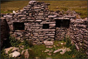 deserted village achill island