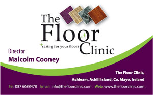 the floor clinic achill island