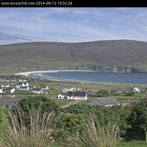 live streaming webcam Achill Island,Mayo, Ireland
